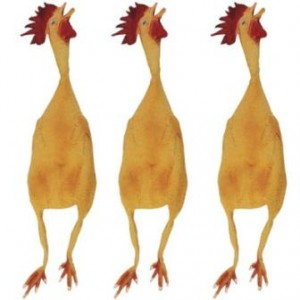 rubber-chickens